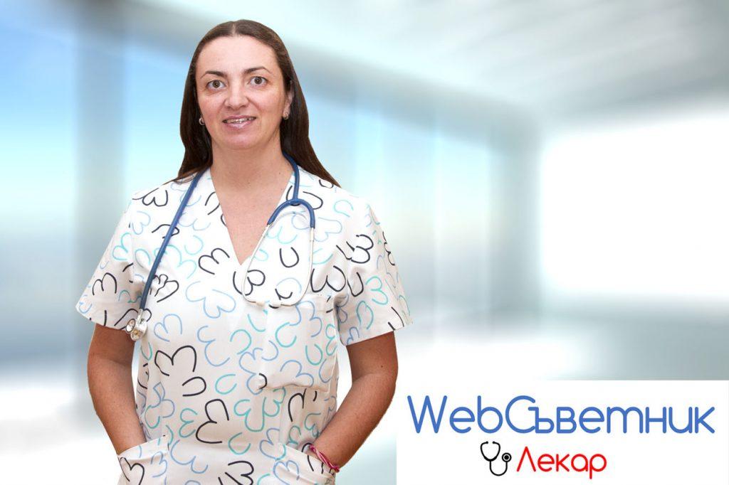 д-р Катерина Чачулова, педиатър в 1ДКК, консултант в УебСъветник